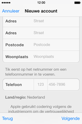 Apple iPhone 4 S iOS 7 - Applicaties - Account instellen - Stap 22