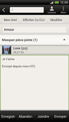 HTC S720e One X - E-mail - envoyer un e-mail - Étape 13