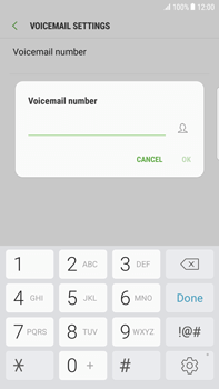 Samsung Samsung G928 Galaxy S6 Edge + (Android N) - Voicemail - Manual configuration - Step 8