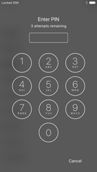Apple iPhone 6s iOS 10 - Primeiros passos - Como ligar o telemóvel pela primeira vez -  5