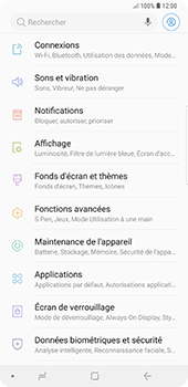 Samsung Galaxy Note9 - Réseau - utilisation à l'étranger - Étape 7