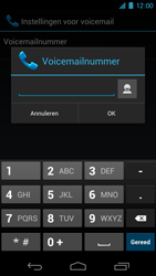 Samsung I9250 Galaxy Nexus - Voicemail - Handmatig instellen - Stap 7