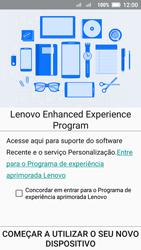 Lenovo Vibe C2 - Primeiros passos - Como ativar seu aparelho - Etapa 17