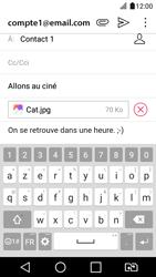 LG K4 2017 - E-mail - Envoi d
