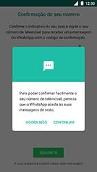 Nokia 3 - Aplicações - Como configurar o WhatsApp -  11