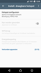 Sony xperia-x-f5121-android-nougat - WiFi - Mobiele hotspot instellen - Stap 7