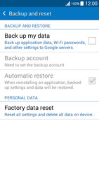 Samsung G530FZ Galaxy Grand Prime - Device - Reset to factory settings - Step 6