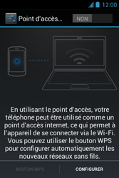 Bouygues Telecom Bs 351 - Internet et connexion - Partager votre connexion en Wi-Fi - Étape 8