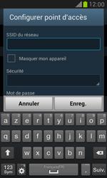 Samsung Galaxy S3 Mini - Internet et connexion - Partager votre connexion en Wi-Fi - Étape 8