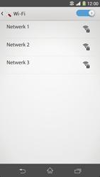 Sony Xperia Z1 4G (C6903) - WiFi - Handmatig instellen - Stap 6