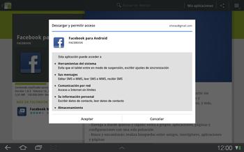 Samsung P7500 Galaxy Tab 10-1 - Aplicaciones - Descargar aplicaciones - Paso 6