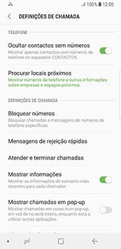 Samsung Galaxy S8 - Android Oreo - Chamadas - Como bloquear chamadas de um número -  6