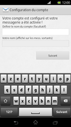 Sony LT30p Xperia T - E-mail - Configuration manuelle - Étape 14