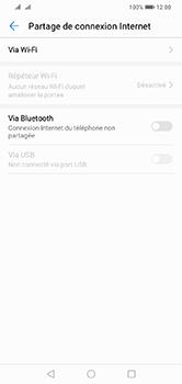 Huawei Y7 (2019) - Internet - comment configurer un point d'accès mobile - Étape 5