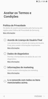 Samsung J4+ - Primeiros passos - Como ativar seu aparelho - Etapa 7