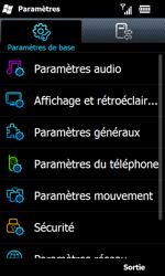 Samsung B7610 Omnia Qwerty - Messagerie vocale - configuration manuelle - Étape 5