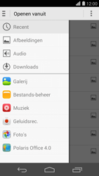 Huawei Ascend P7 - E-mail - Bericht met attachment versturen - Stap 11