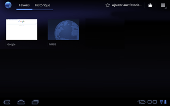 Huawei Mediapad S7-301u - Internet - Navigation sur internet - Étape 10