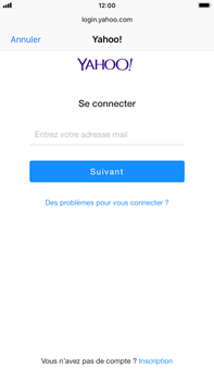 Apple iPhone 6s Plus - iOS 12 - E-mail - Configuration manuelle (yahoo) - Étape 6
