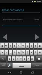 Sony Xperia Z - Primeros pasos - Activar el equipo - Paso 29