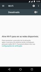 Motorola Moto G5 - Wi-Fi - Como configurar uma rede wi fi - Etapa 5
