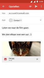 Nokia 3 - E-mail - e-mail versturen - Stap 14