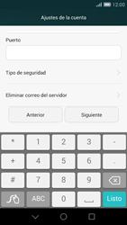 Huawei Ascend G7 - E-mail - Configurar correo electrónico - Paso 9