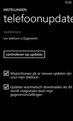 Nokia Lumia 520 - Software updaten - Update installeren - Stap 7