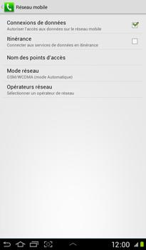 Samsung P3100 Galaxy Tab 2 7-0 - Réseau - utilisation à l'étranger - Étape 9