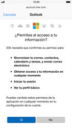 Apple iPhone 6s - iOS 11 - E-mail - Configurar Outlook.com - Paso 8