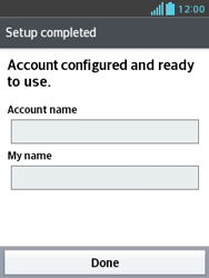 LG E430 Optimus L3 II - Email - Manual configuration - Step 21