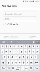 Samsung Galaxy J2 Prime - Email - Como configurar seu celular para receber e enviar e-mails - Etapa 6