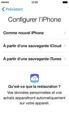 Apple iPhone 5c (iOS 8) - Premiers pas - Créer un compte - Étape 12