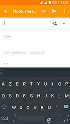 Alcatel U5 - E-mails - Envoyer un e-mail - Étape 5