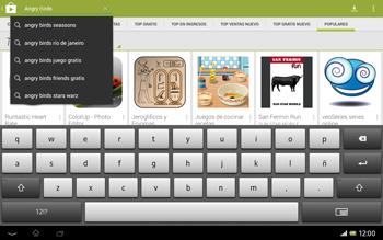 Sony Xperia Tablet Z - Aplicaciones - Descargar aplicaciones - Paso 14