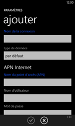 Nokia Lumia 620 - Internet - configuration manuelle - Étape 12