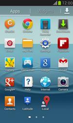 Samsung I8190 Galaxy S III Mini - MMS - Manual configuration - Step 3