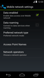 Acer Liquid E600 - Network - Usage across the border - Step 6