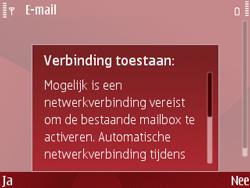 Nokia E63 - E-mail - Handmatig instellen - Stap 10