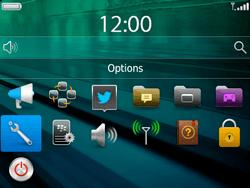 BlackBerry 9720 - Sécuriser votre mobile - Personnaliser le code PIN de votre carte SIM - Étape 3