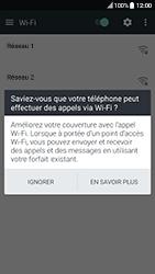 HTC 10 - Android Nougat - Wi-Fi - Se connecter à un réseau Wi-Fi - Étape 6
