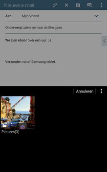 Samsung T335 Galaxy Tab 4 8-0 - E-mail - E-mails verzenden - Stap 14