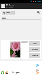 Wiko Stairway - Mms - Sending a picture message - Step 16