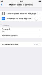 Apple iPhone 7 - iOS 12 - E-mail - Configuration manuelle - Étape 15