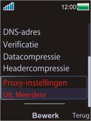 Sony Ericsson W595 - MMS - handmatig instellen - Stap 15