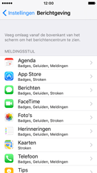 Apple iPhone SE - iOS 10 - iOS features - Bewerk meldingen - Stap 4