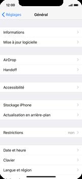 Apple iPhone X - Appareil - Mises à jour - Étape 5