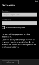 Nokia Lumia 625 - E-mail - Account instellen (POP3 met SMTP-verificatie) - Stap 8