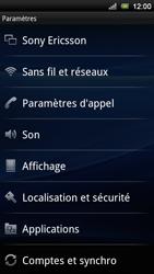 Sony Ericsson Xperia Neo V - Messagerie vocale - configuration manuelle - Étape 5