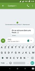 Alcatel 1 - Contact, Appels, SMS/MMS - Envoyer un SMS - Étape 11